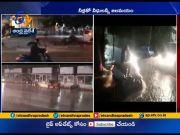 Rains Hit Again   in Hyderabad  (Video)