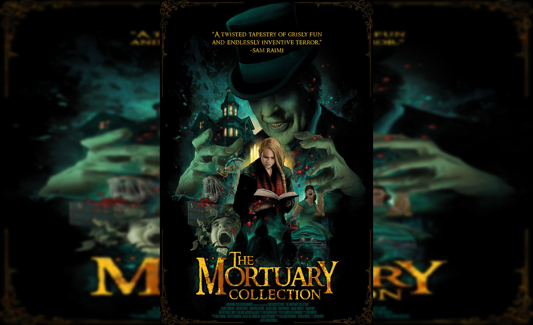 The Mortuary Collection Review:  A Great Anthology that Feels Retro and Present Day Simultaneously (Rating: ***1/2)