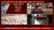 NTV:  People Play Volleyball In Flood Water At Malakpet (Video)