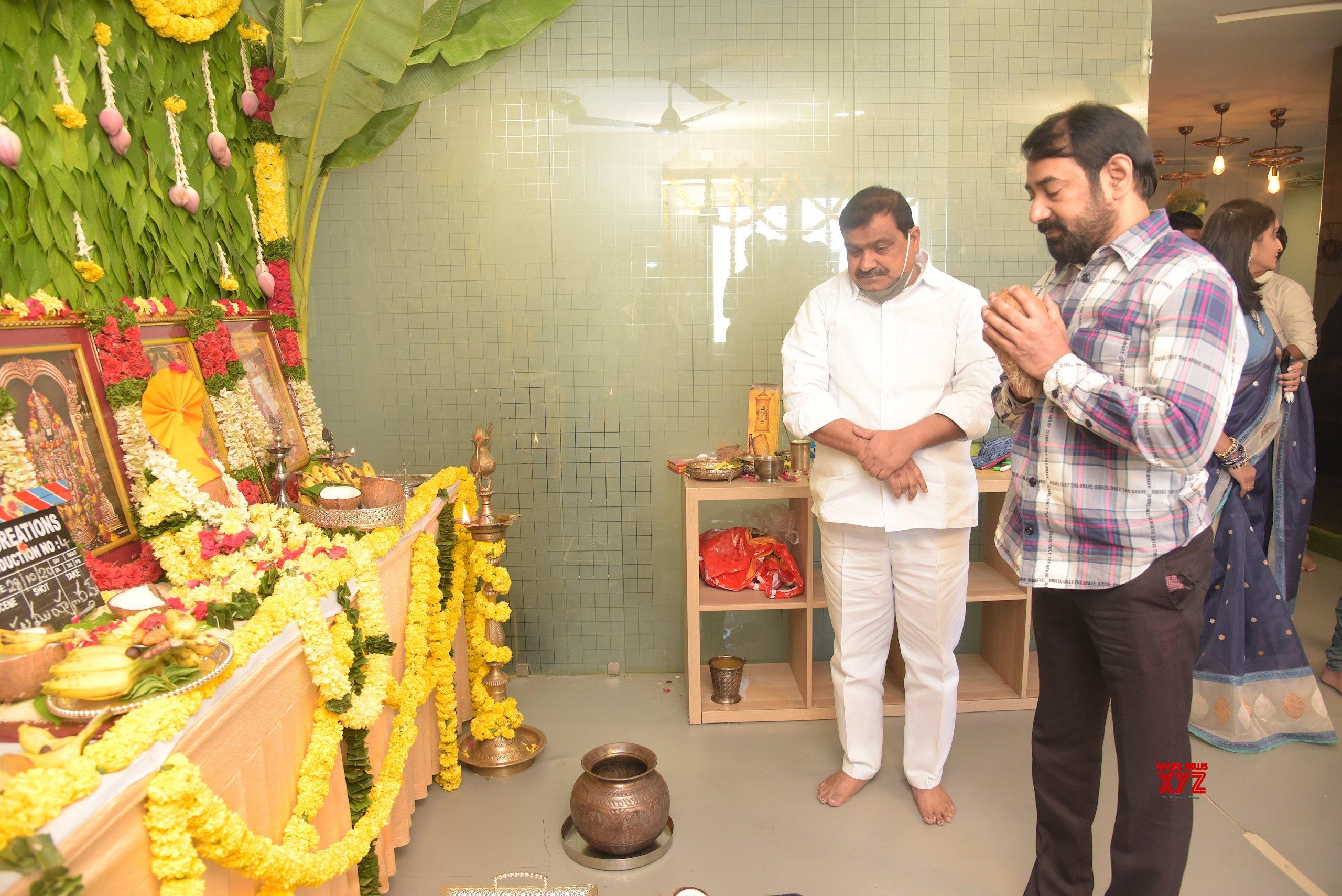 Naga Shaurya, Aneesh Krishna, IRA Creations Film Launch Gallery Set 2