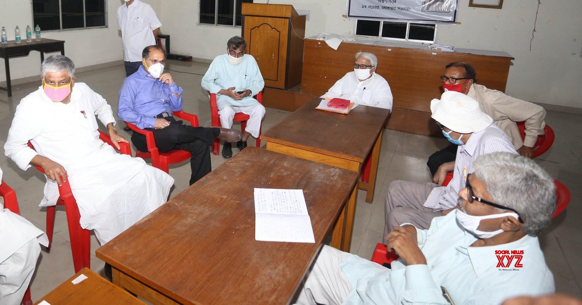 Kolkata: Left - Congress meeting #Gallery