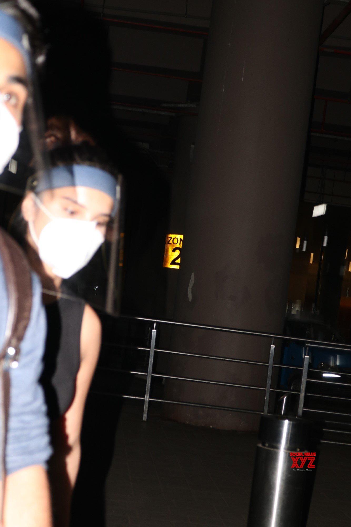 Aadar Jain And Tara Sutaria Spotted At Airport Photos