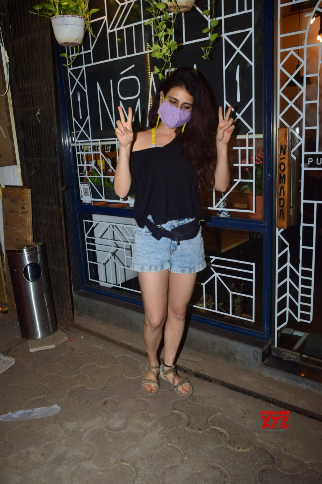 Actress Fatima Sana Shaikh Spotted At Versova HD Gallery