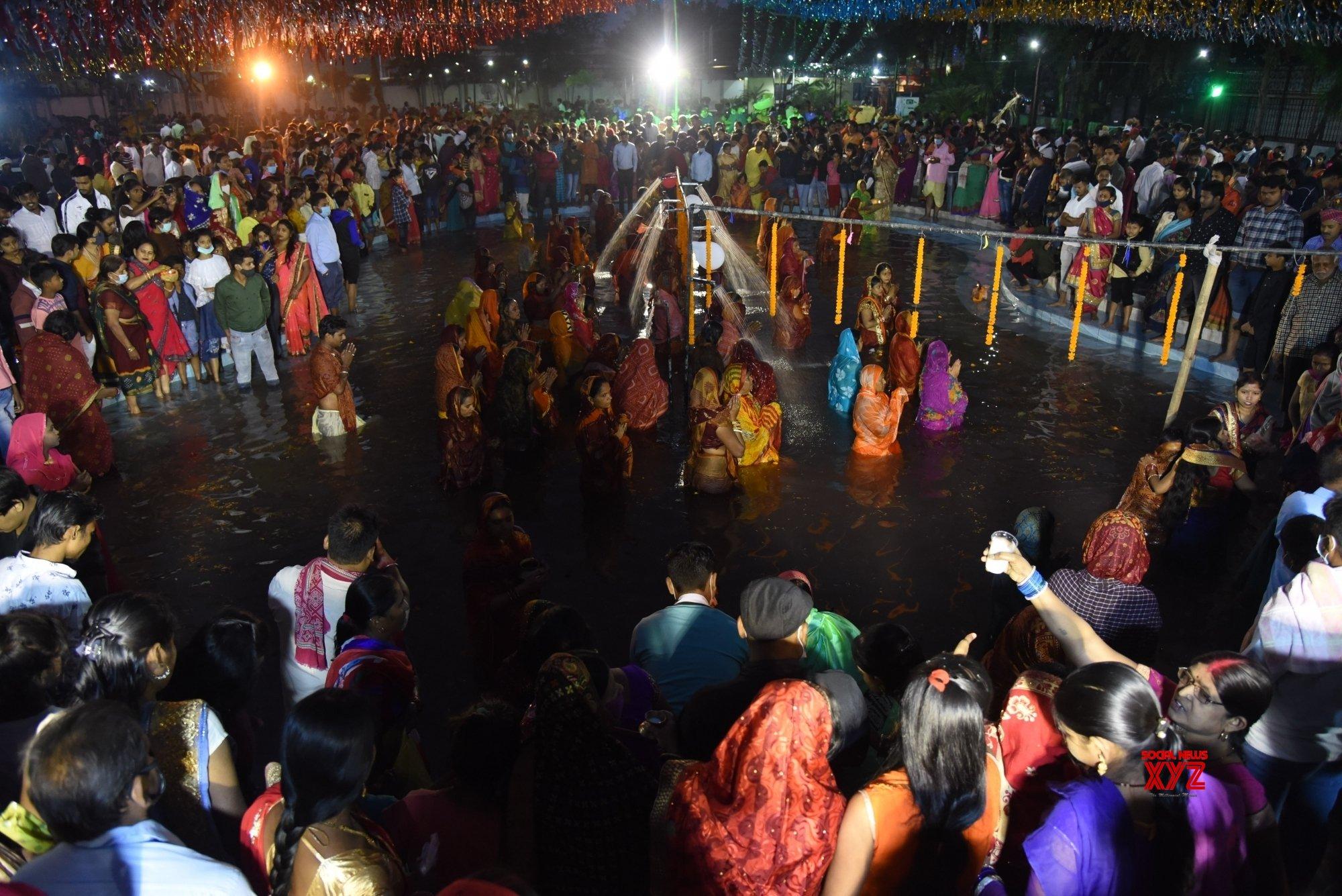 Patna: Chhath Puja celebrations at Kankarbagh Colony's Shivaji Park (Batch - 5) #Gallery
