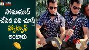 Sonu Sood Greatness Revealed on Alludu Adurs Movie Sets (Video)