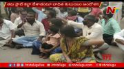NTV: Family Protest Against to Hayathnagar TRS Corporator Candidate Sama Tirumala Reddy (Video)