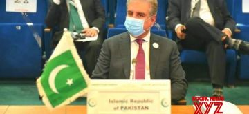 Pakistan Foreign Minister Shah Mahmood Qureshi.