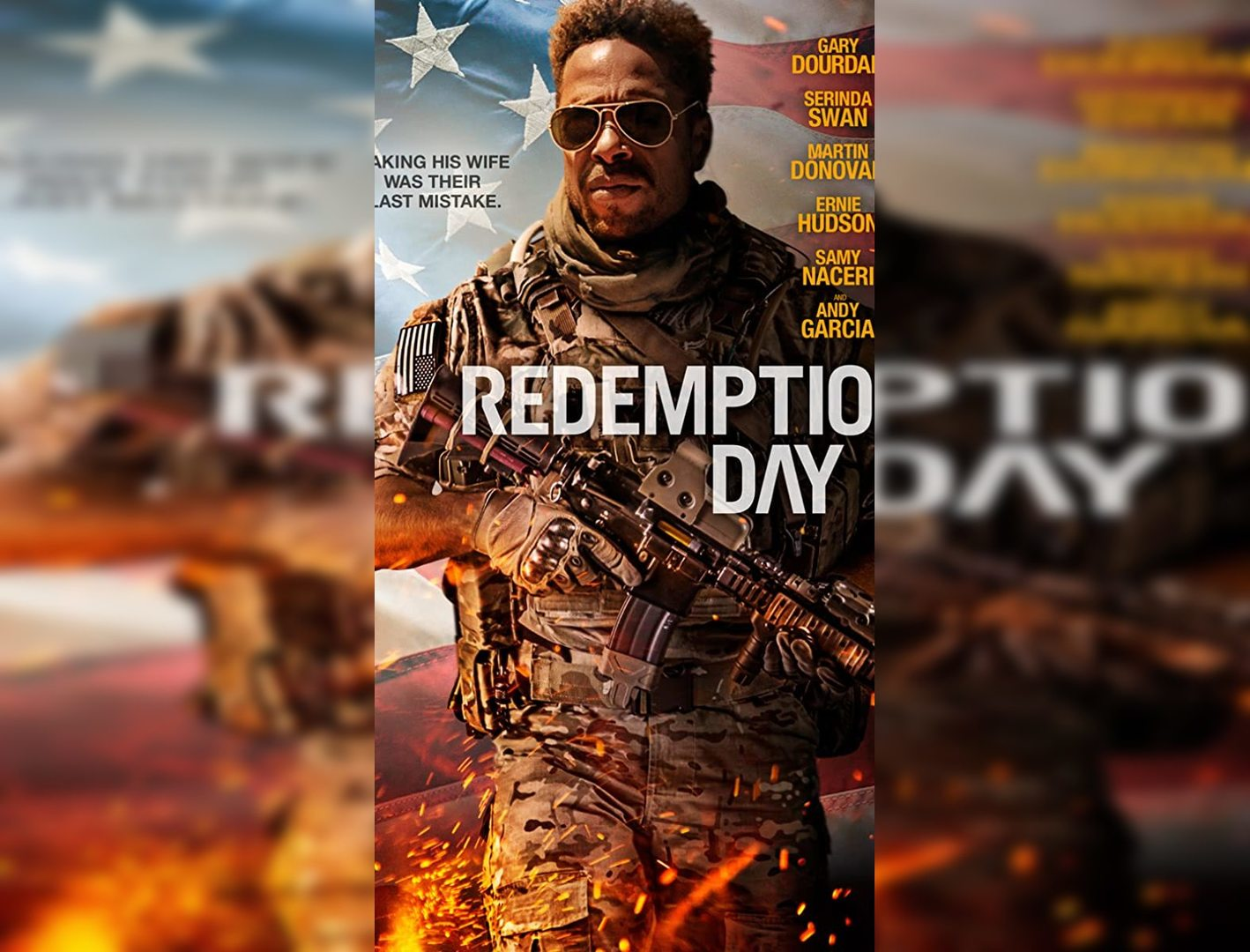 Redemption Day Review:  There's Not a Delight to be Found in This Superficial Action Thriller (Rating: **)