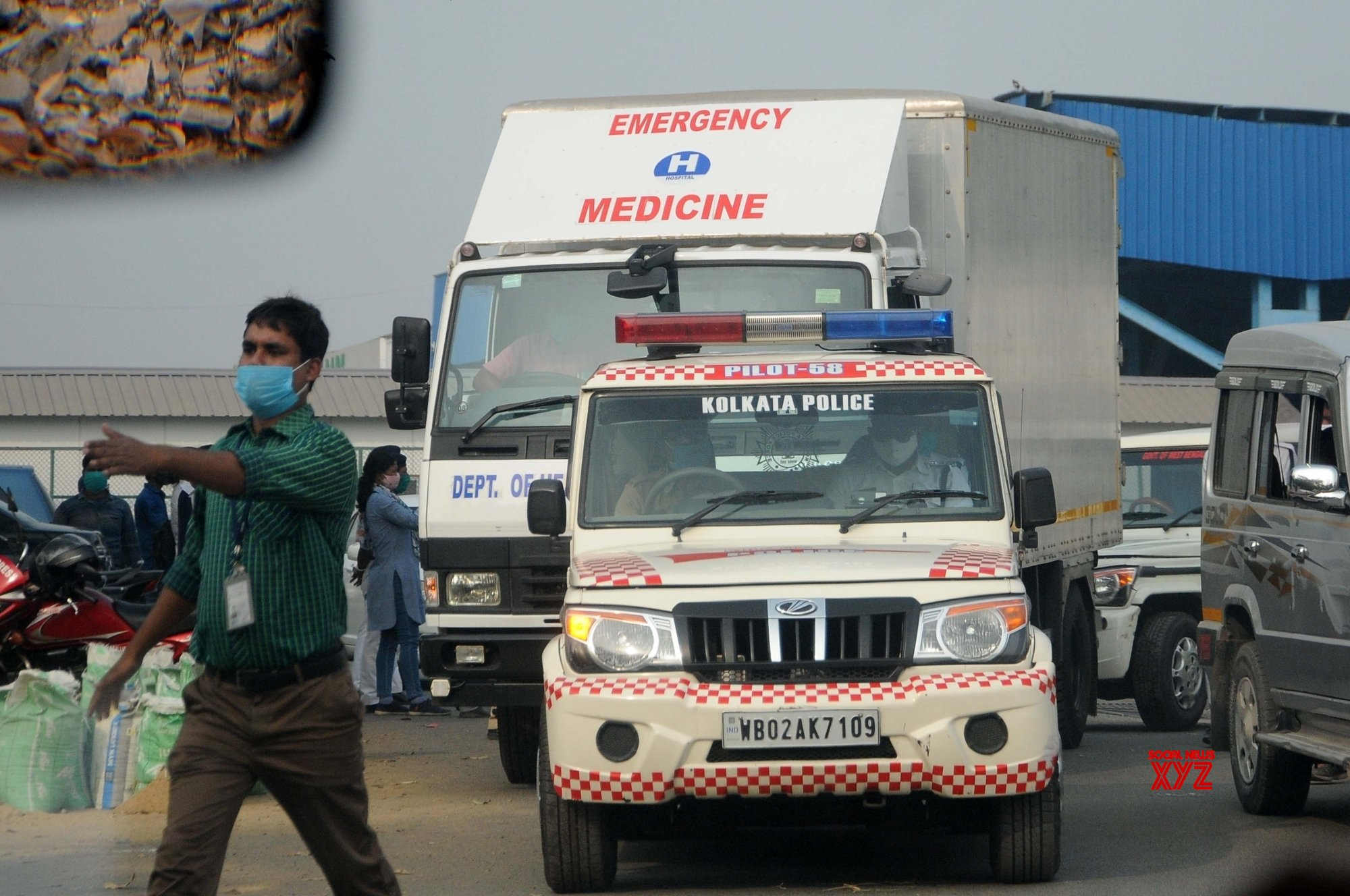 Kolkata: Covishield vaccine reached at NSCBI Airport #Gallery