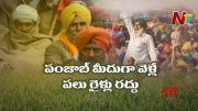 NTV:  Farmers Burn Copies of Farm Laws (Video)