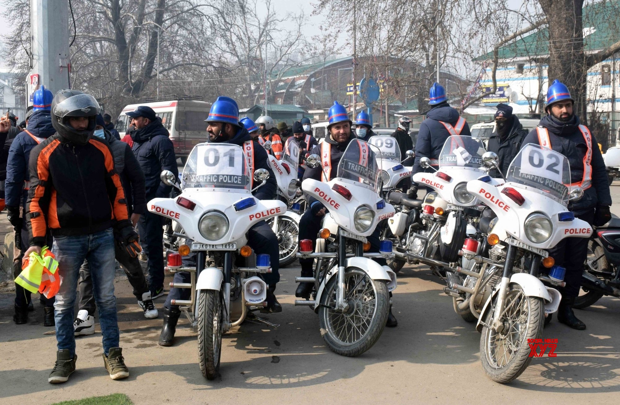 Pulwama: IGP Kashmir police inaugurated Road Safety Month #Gallery