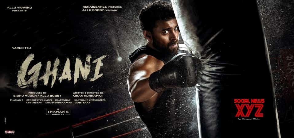 Varun Tej's Ghani Movie First Look Posters