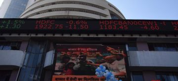 BSE Sensex above 50,000 on occasion celebration