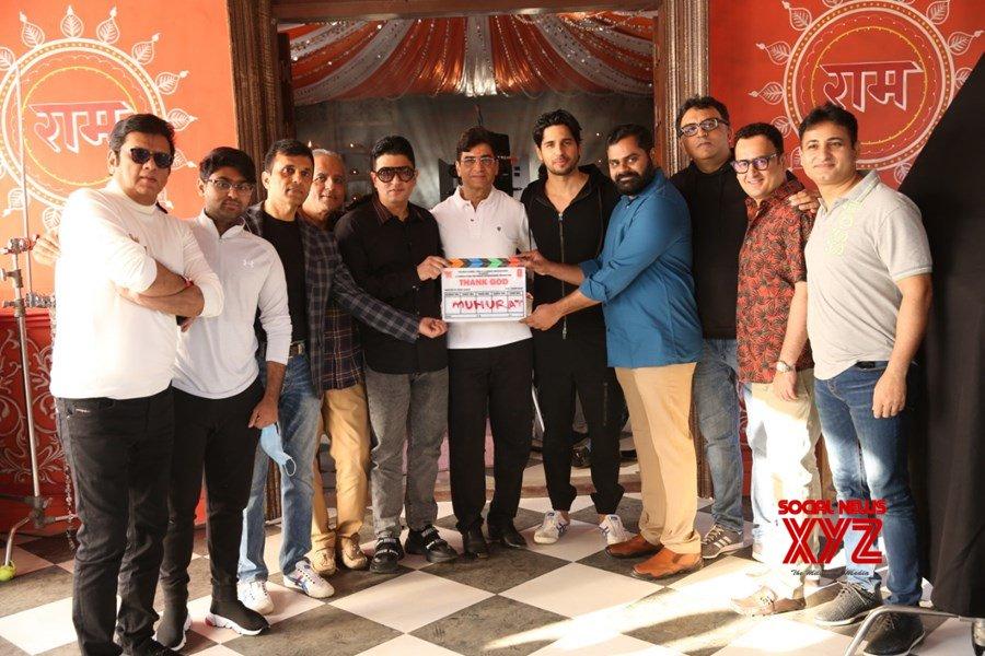 Ajay Devgn, Rakul Preet Singh And Sidharth Malhotra Starrer Thank God Starts Rolling