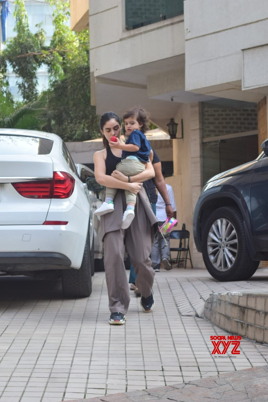 Arjun Rampal And Gabriella Spotted In Bandra - Gallery