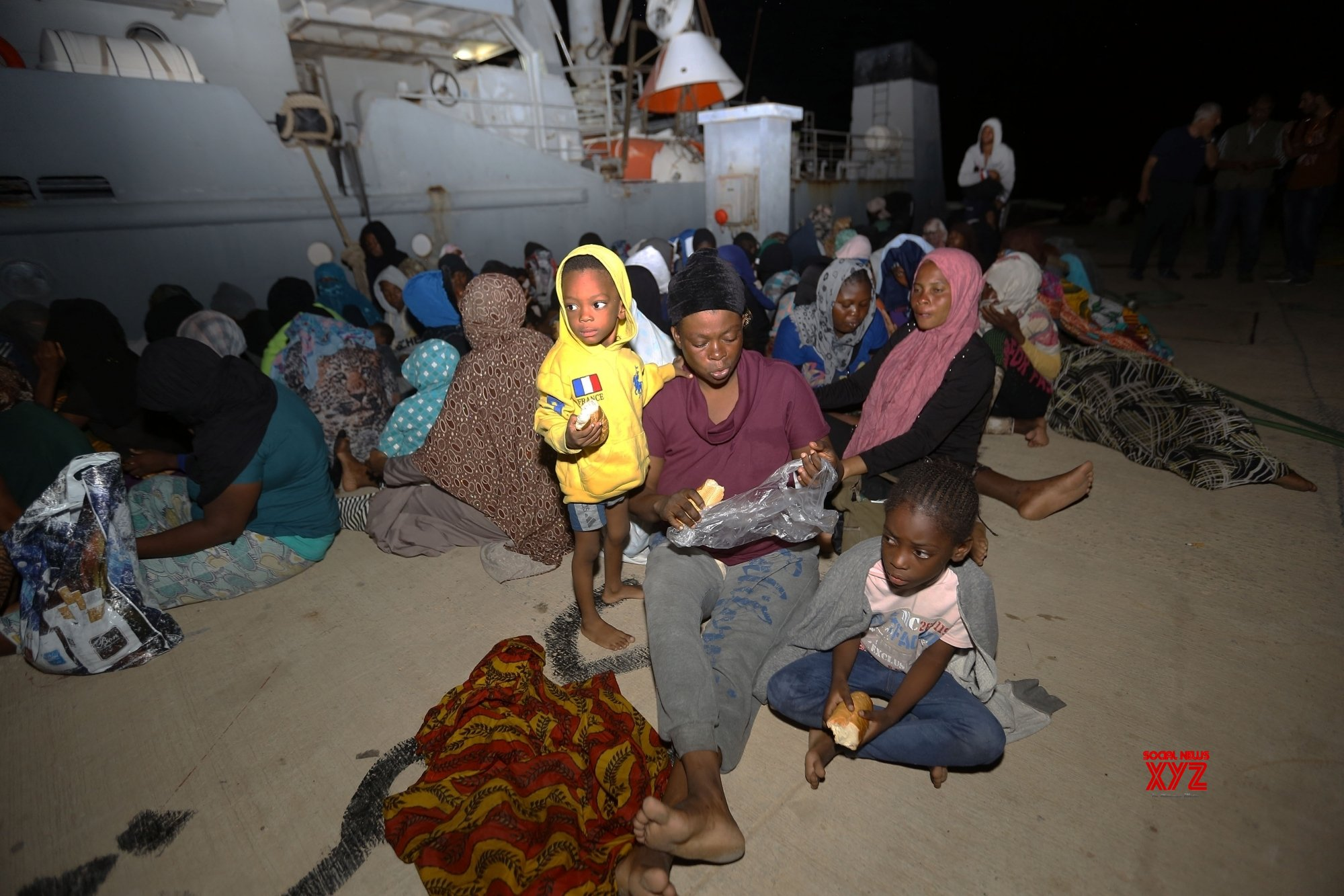818 illegal migrants rescued off Libyan coast in a week