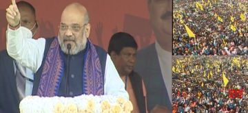 Why 'Jai Shri Ram' slogan is insult for Mamata: Amit Shah. (twitterBJP)