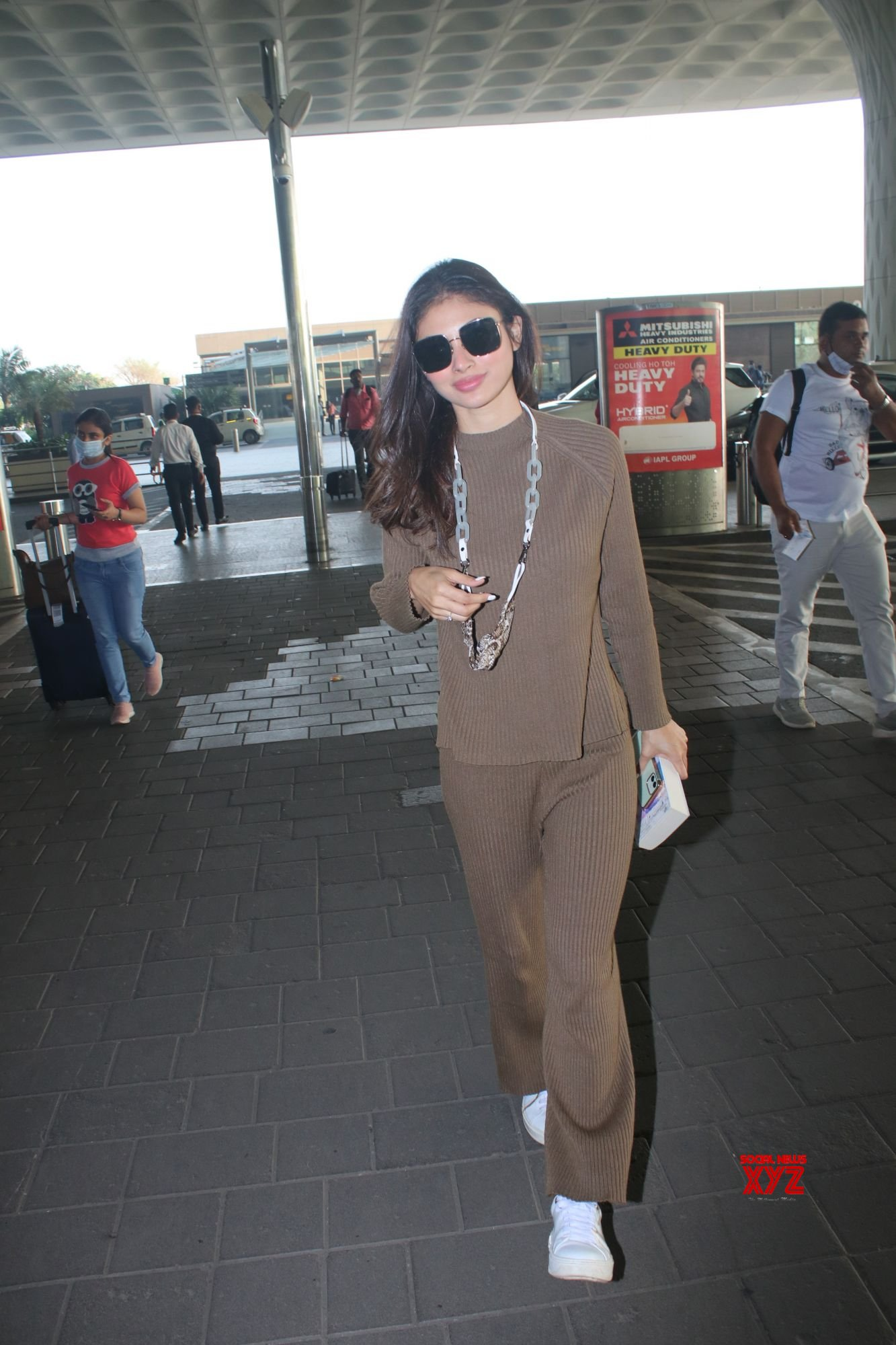 Actress Mouni Roy Spotted At Airport Departure - Gallery