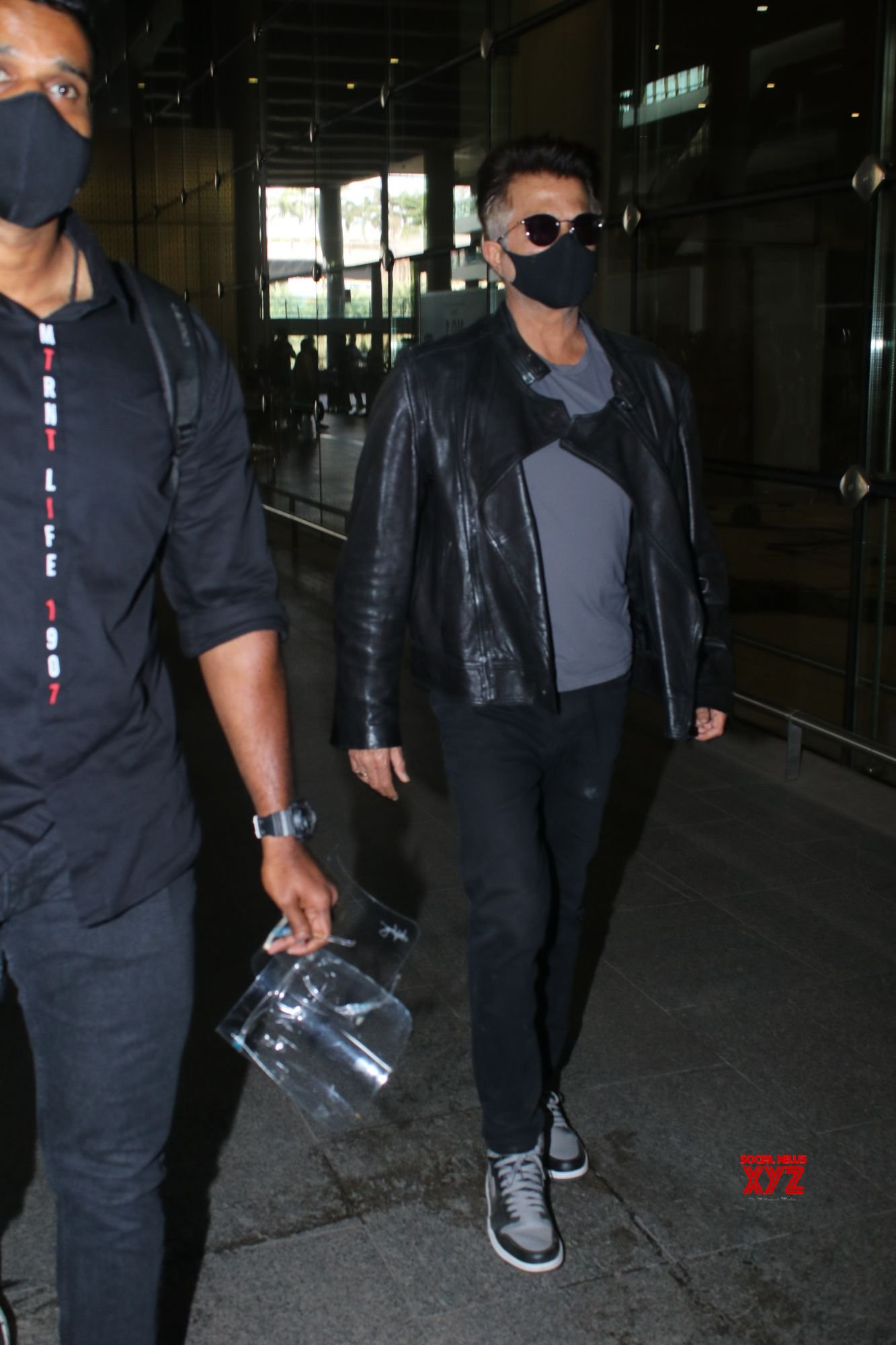 Anil Kapoor Spotted At Airport Arrival - Gallery