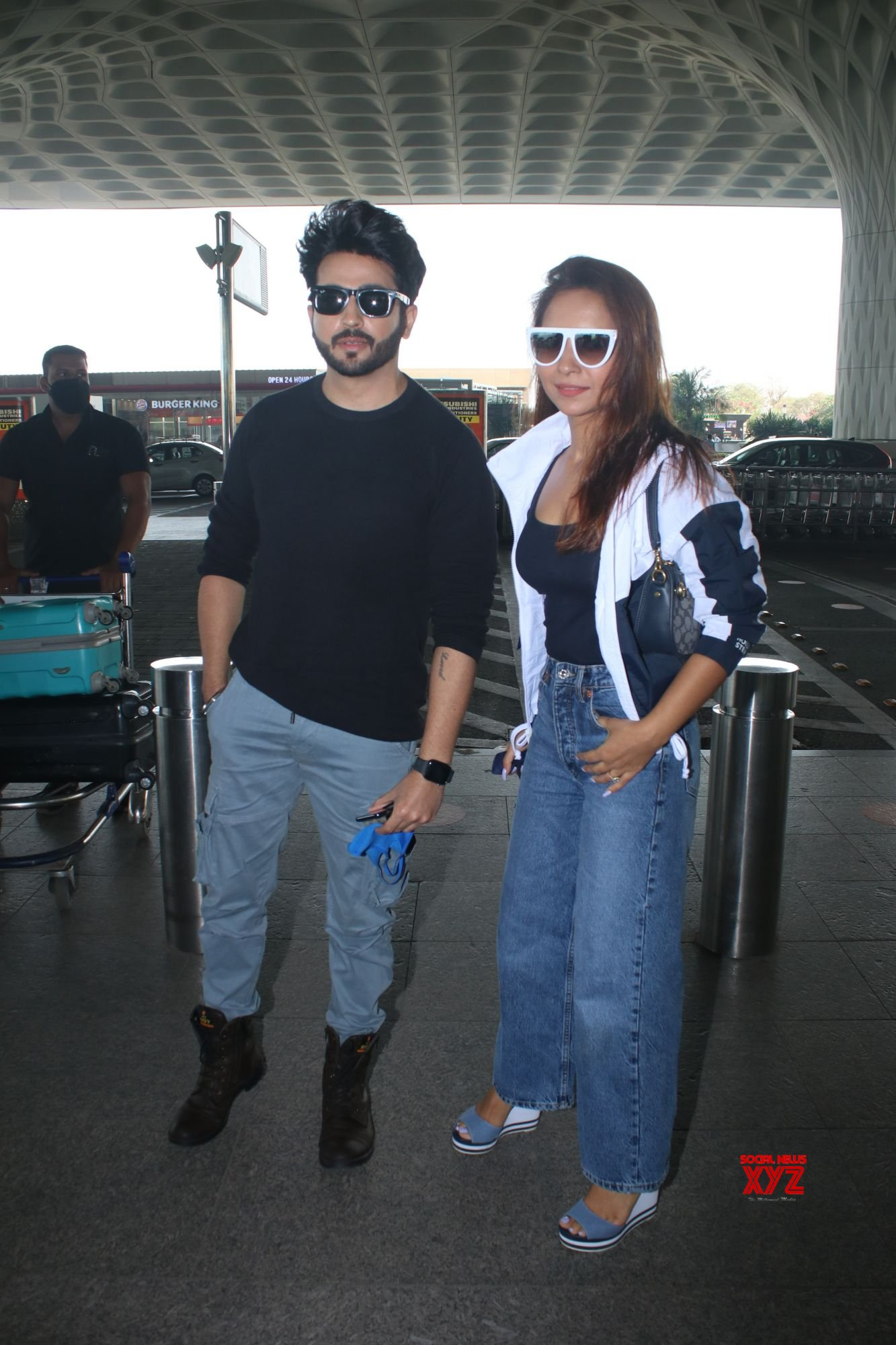 Dheeraj Dhoopar And Vinny Arora Spotted At Airport Departure - Gallery