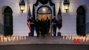 White House ceremony honors 500k US COVID deaths (Video)