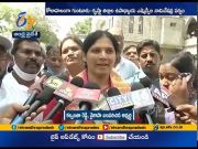 Political leaders candidates file MLC Nominations at Krishna & Guntur  (Video)