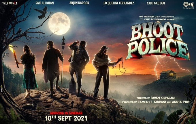 Bhoot Police Gets A Poster And Release Date