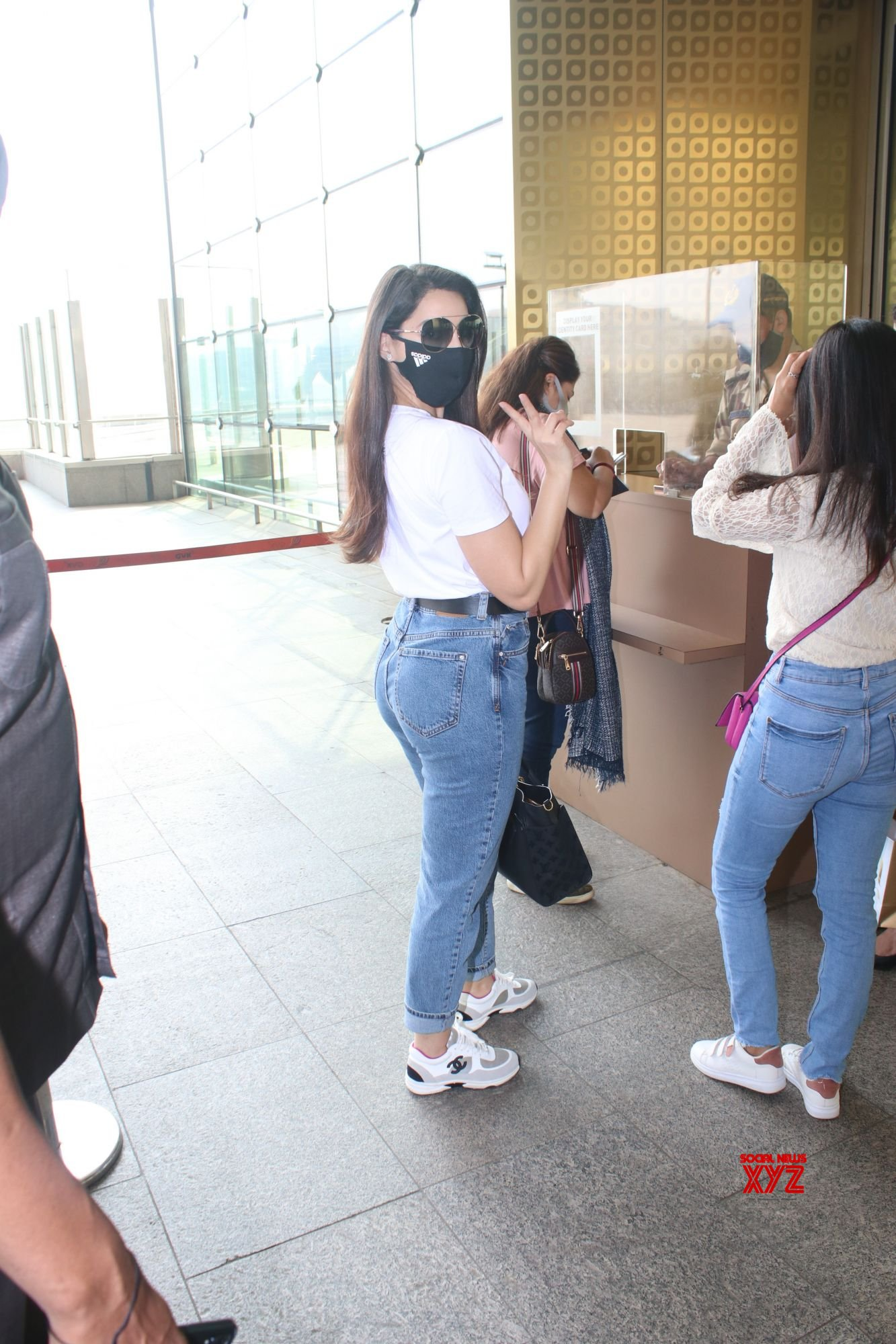 Actress Nora Fatehi Spotted At Airport Departure - Gallery