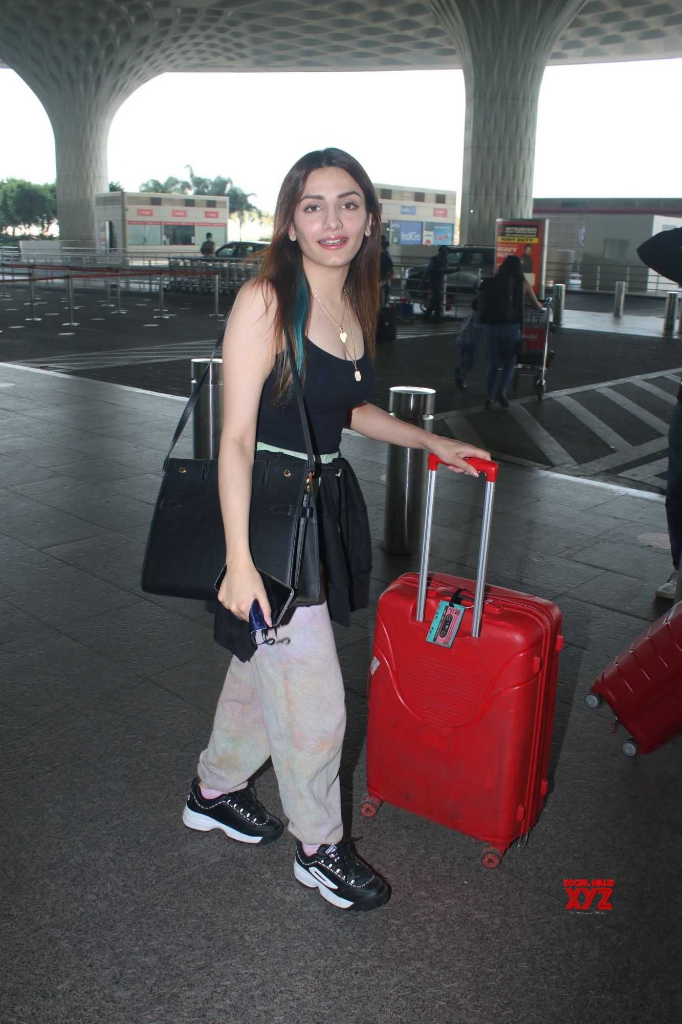 Sukriti Kakar And Prakriti Kakar Spotted At Airport Departure - Gallery