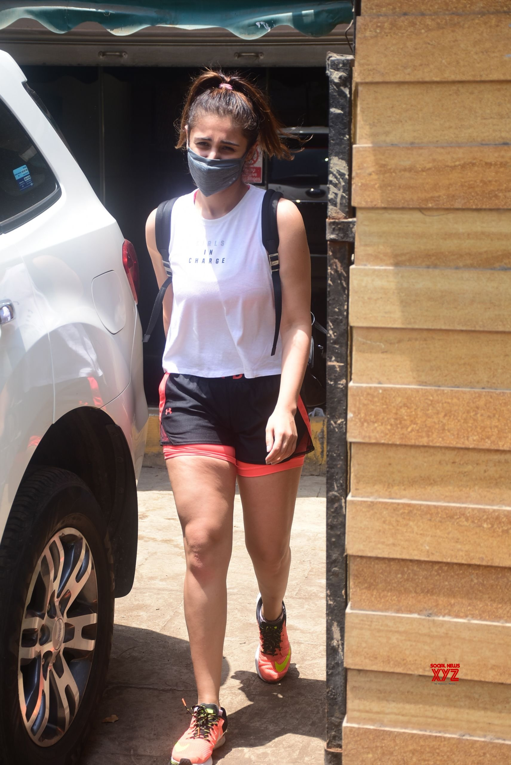 Actress Dhvani Bhanushali Spotted In Bandra - Gallery