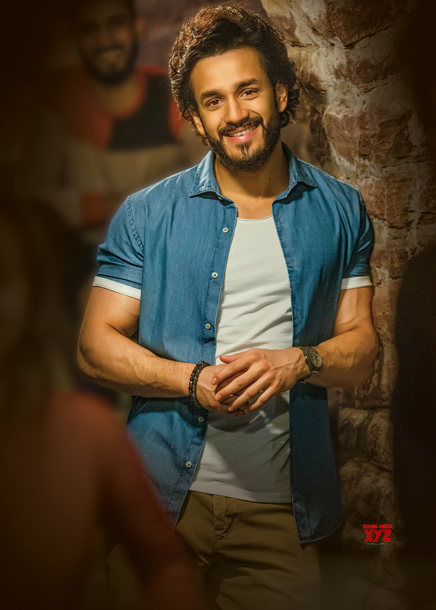 Akhil Akkineni Birthday HD Poster And Still From Most Eligible Bachelor Movie
