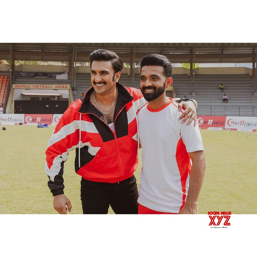 Free Photo: Ranveer Singh wishes 'champ' Ajinkya Rahane for IPL 2021 #Gallery