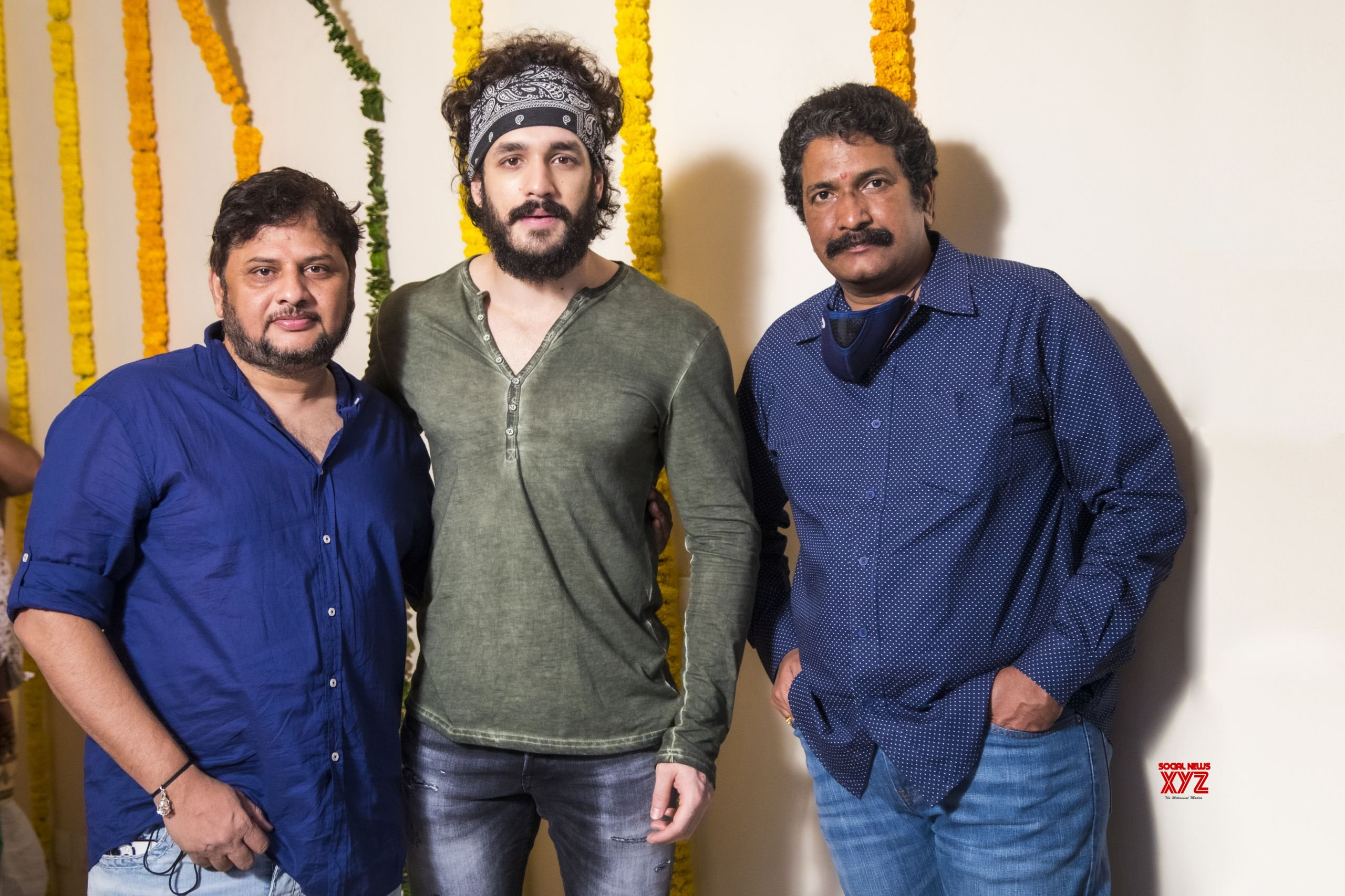 Akhil Akkineni - Surender Reddy And Anil Sunkara's Agent Movie Launch Gallery