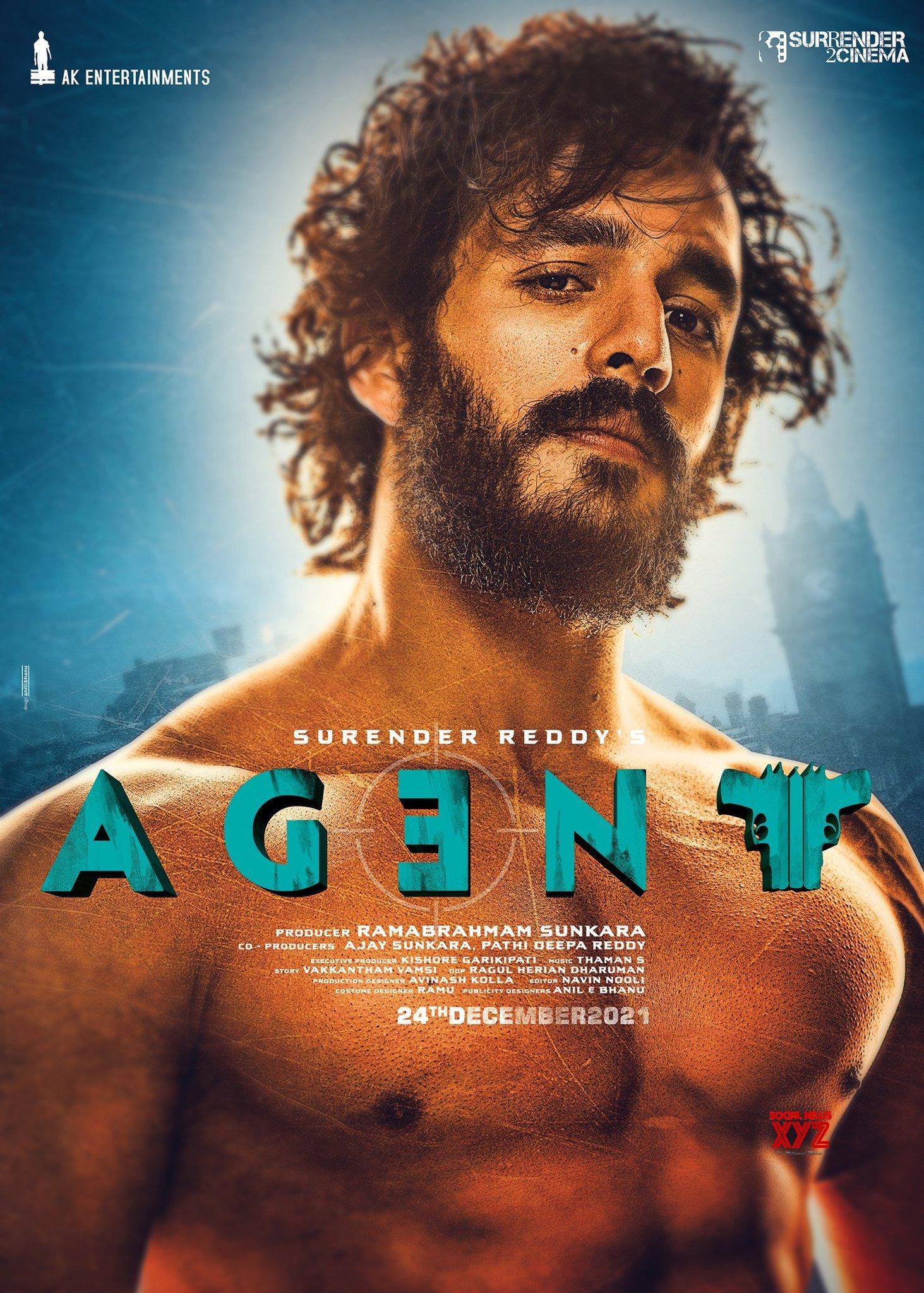 Akhil Akkineni's Stunning 6 Pack Look From Agent Movie