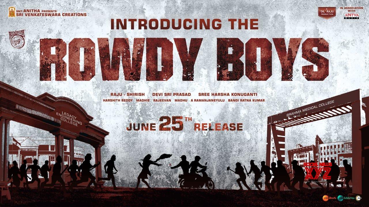 Dil Raju's Nephew Ashish Making His Debut With Rowdy Boys
