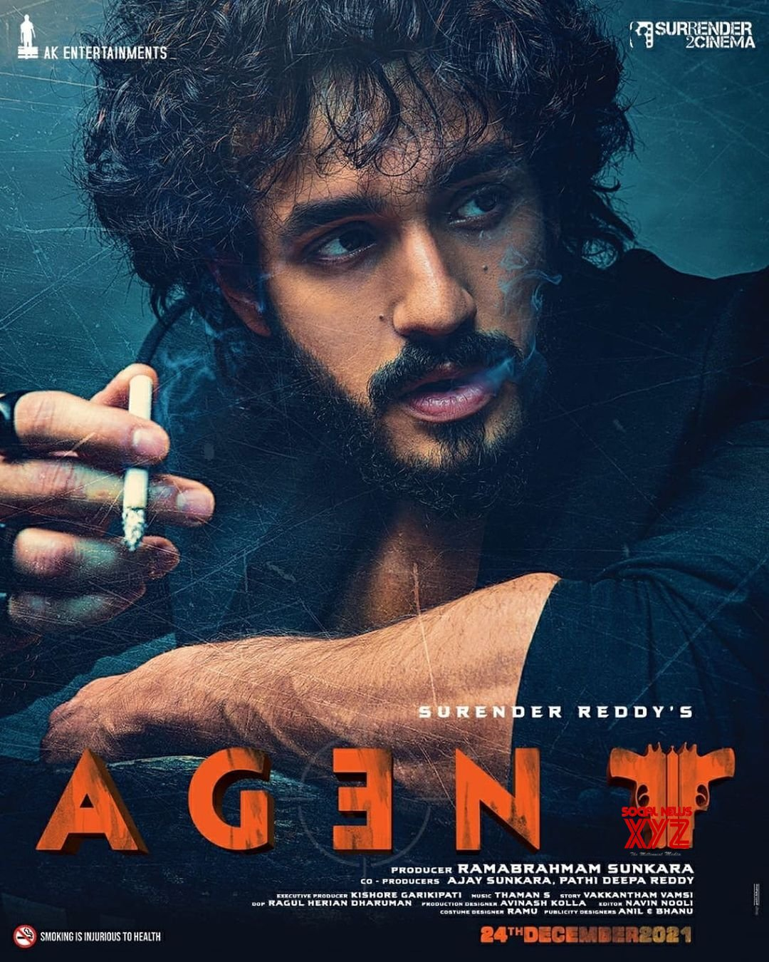 Free Photo: Akhil Akkineni unveils 'Agent' first look, title on b'day #Gallery
