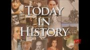Today in History for April 8th (Video)