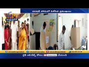 Parishad Polls | Assembly Speaker Thammineni Seetharam & Others Caste Their Vote  (Video)