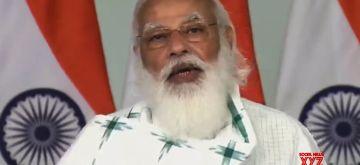 PM Modi attends 'Janaushadhi Diwas' celebrations.