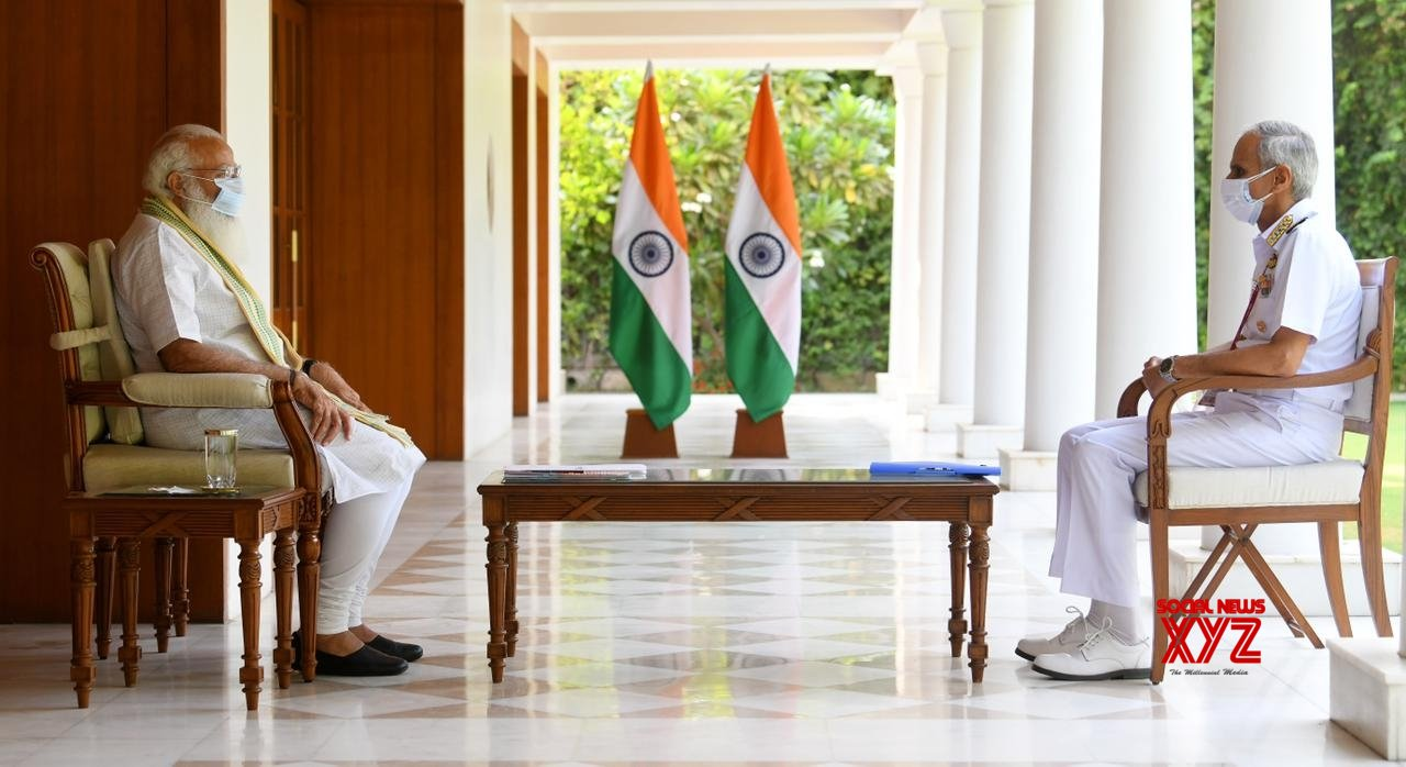 PM reviews Covid related initiatives by Indian Navy