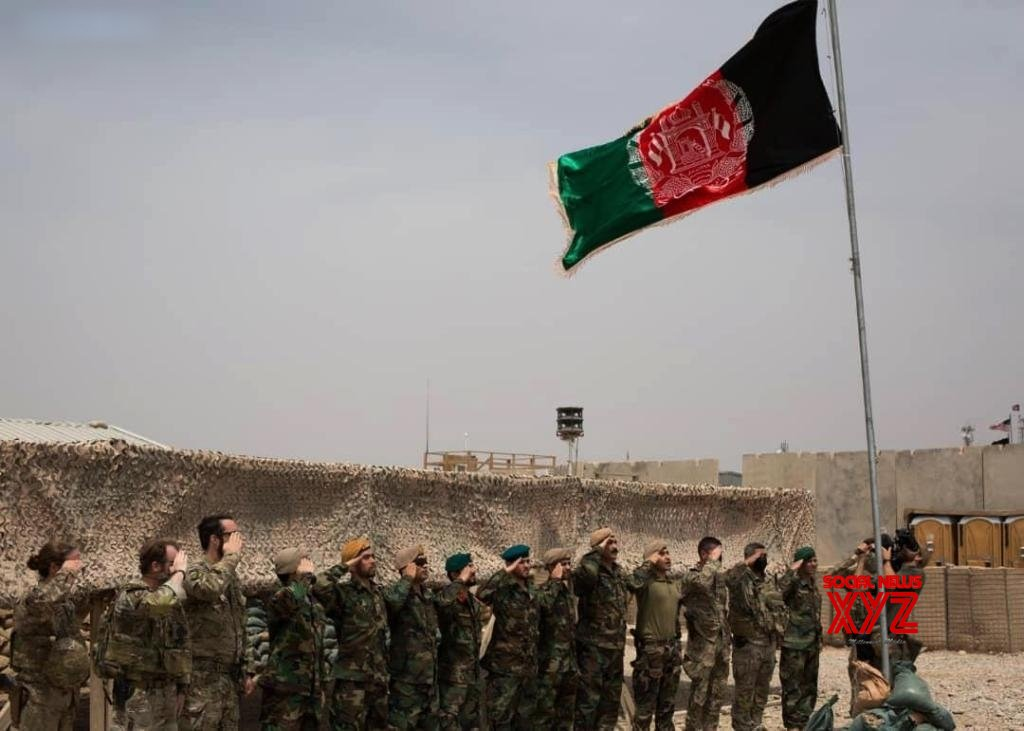U.S. forces in Afghanistan hand over base to Afghan national army: local media #Gallery
