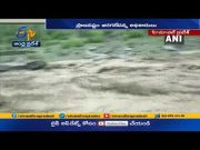 Roads & Constructions Damaged | as Huge Floods | in Himachal Pradesh's Chamba  (Video)