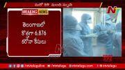 NTV: Telangana Reports 6876 New COVID-19 Cases (Video)