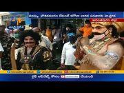 Police Create   Awareness to Public   on Wearing Mask   Hindupuram  (Video)
