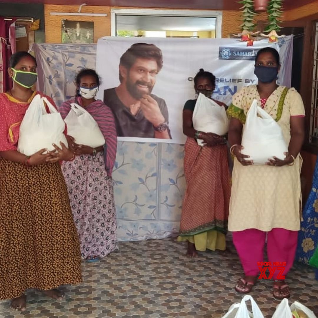 Rana Daggubati Comes To The Rescue Of 400 Tribal Families During The Covid 19 Pandemic