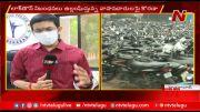 NTV: Telangana Lockdown: Seized Vehicles Cross One Lakh in Hyderabad (Video)