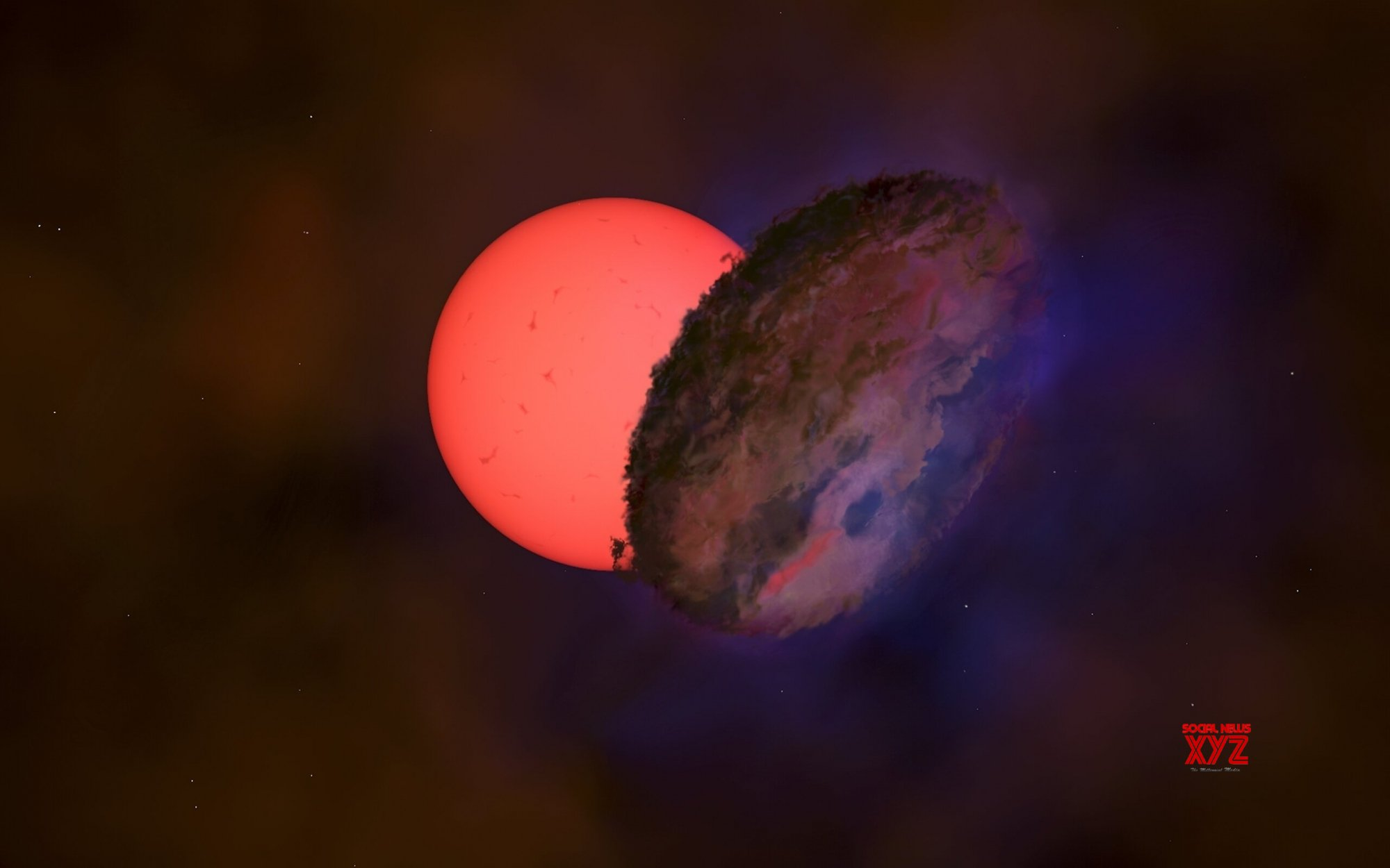 Astronomers spot a 'blinking giant' near Milky Way