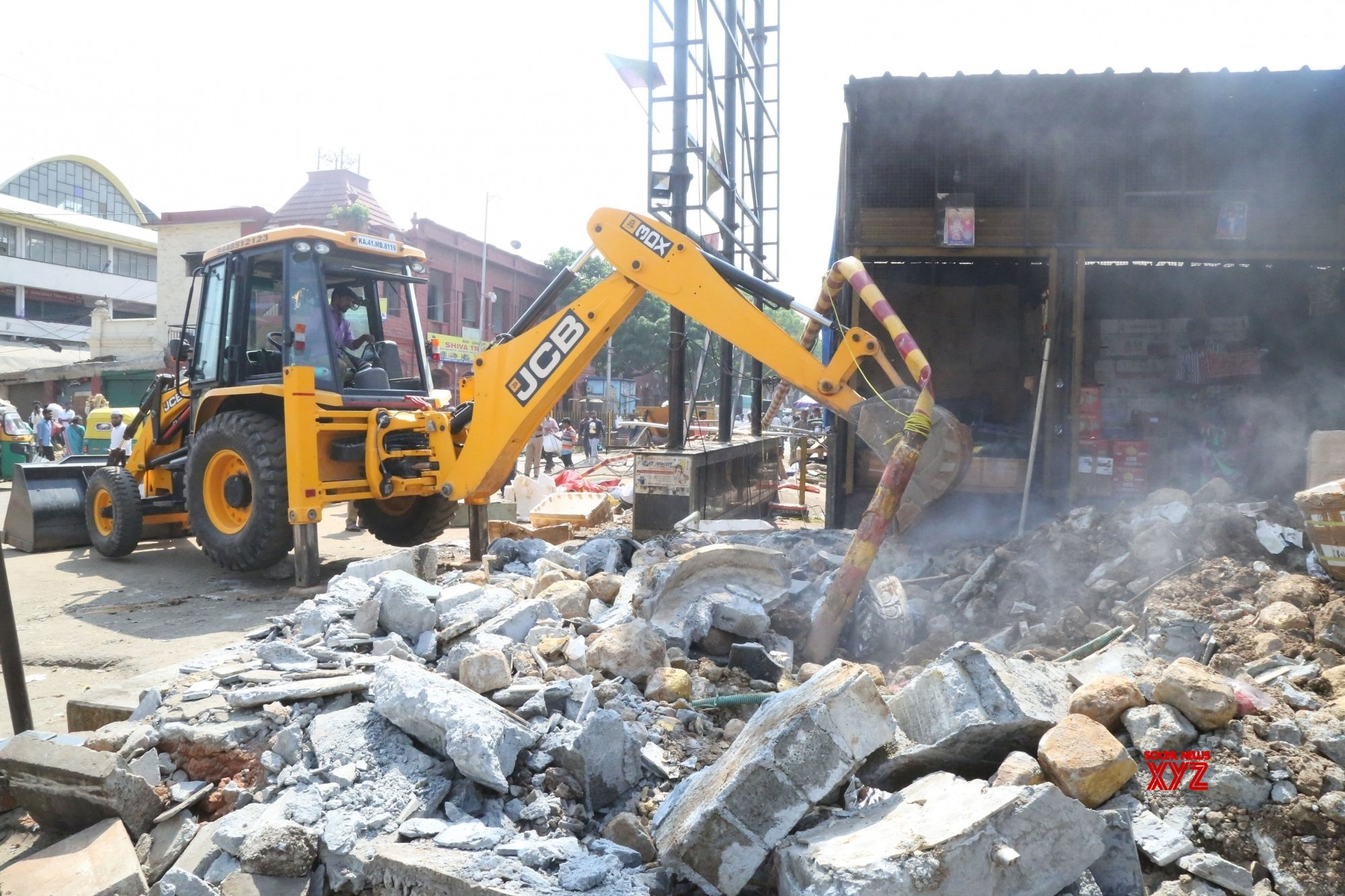 Road network in illegal colony razed during demolition drive