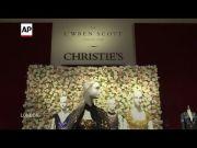 L'Wren Scott auction showcases designer's skill (Video)