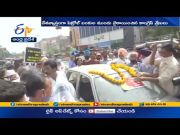 Congress Leaders Hold Protest Against Fuel Price Hike | Across State  (Video)